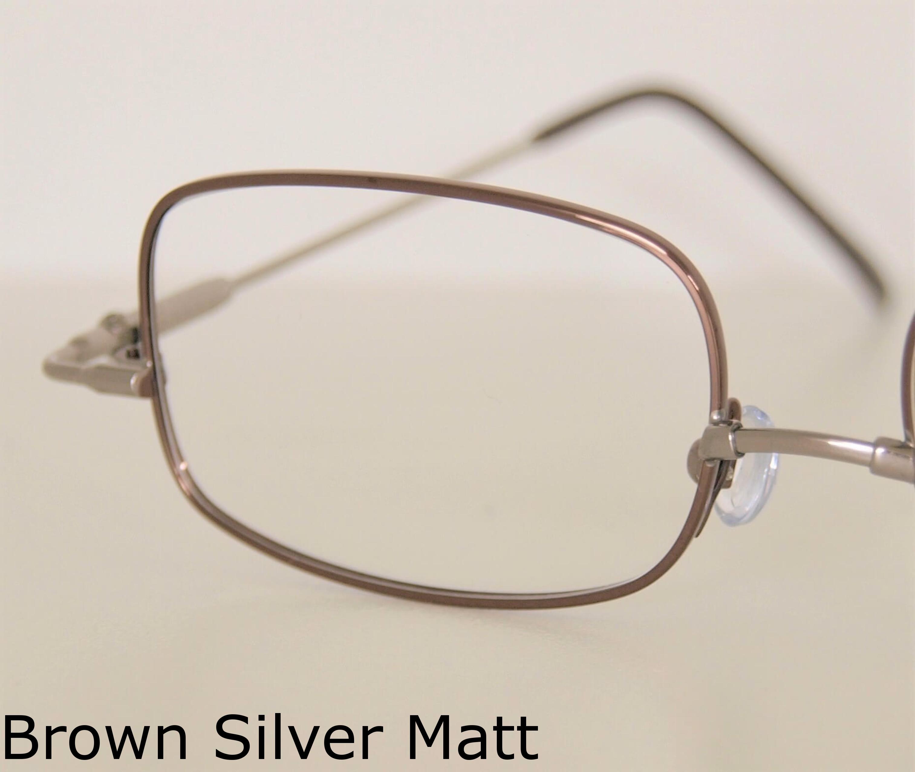 - Brown-Silver Matt