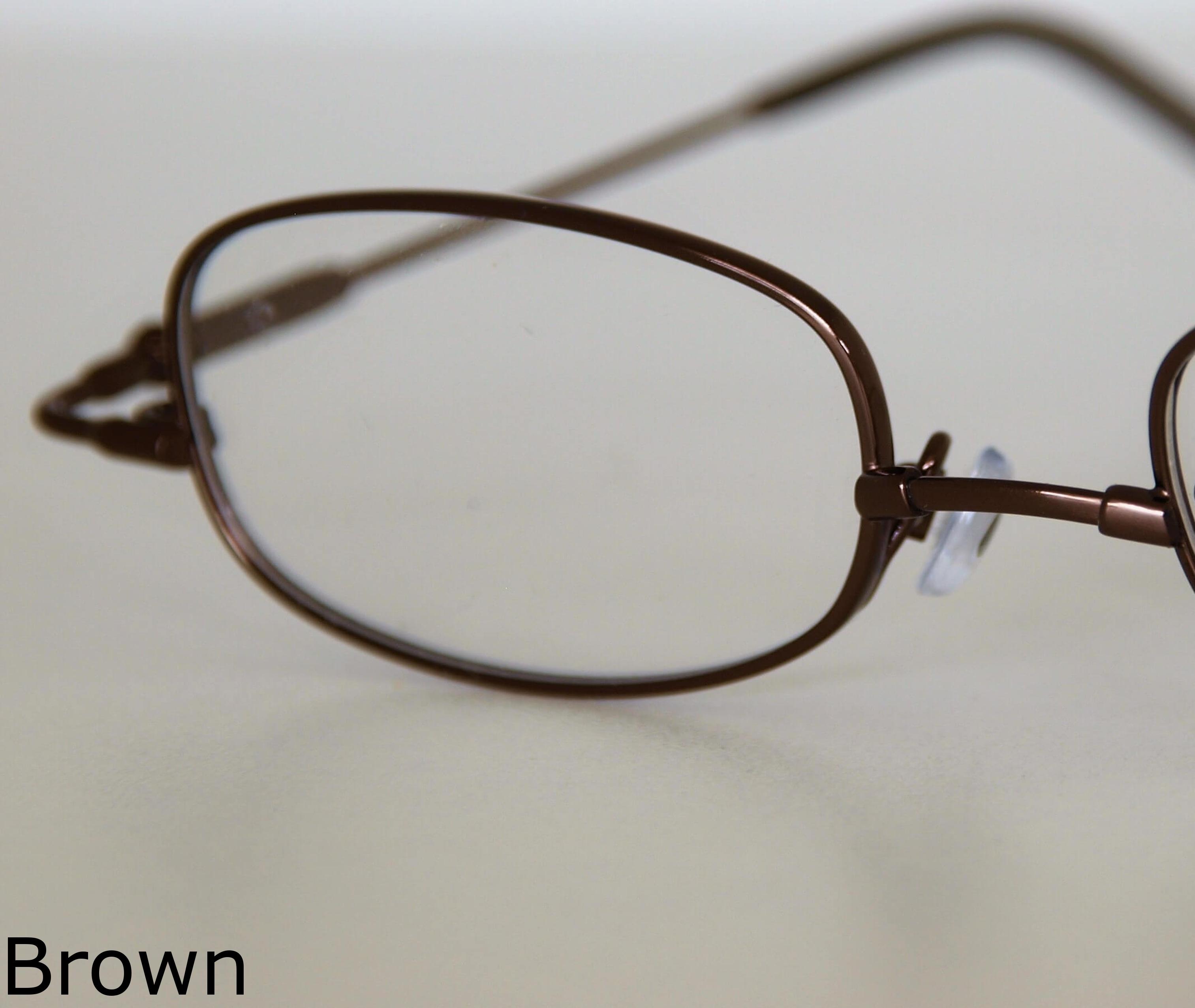 - Brown
